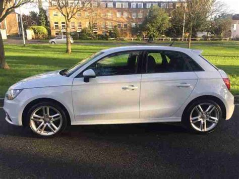 audi a1 tfsi 2014 s line 5 door hatch in gleaming white
