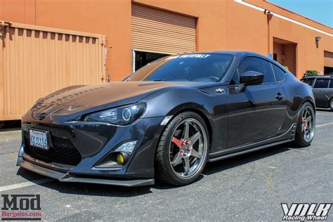 scion sti scion fr s on volk te37s gets invidia n1 exhaust installed