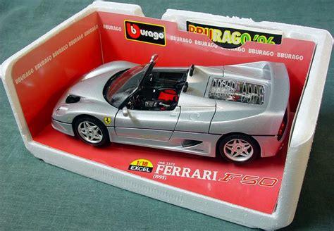 Ferrari F50 Convertible by 1995 Ferrari F50 Convertible Bburago 3372 Excel Series