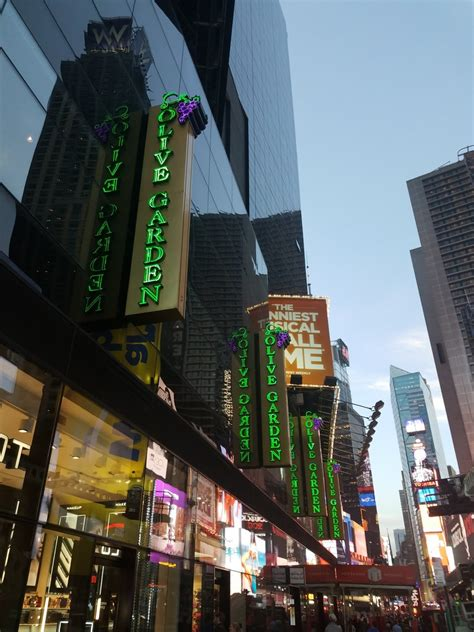 Garden Times Square by Olive Garden Times Square Real Italian Food
