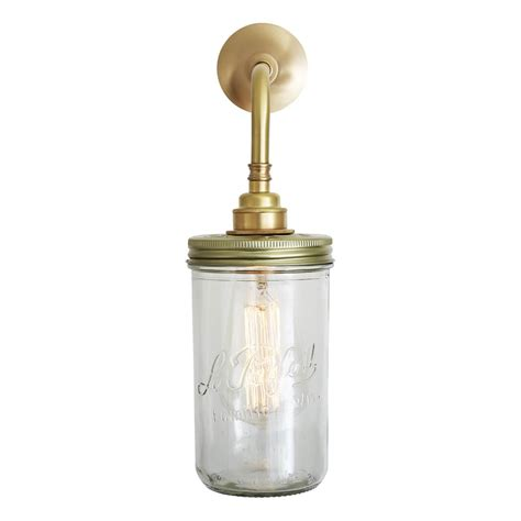 jam jar vintage wall light mullan lighting