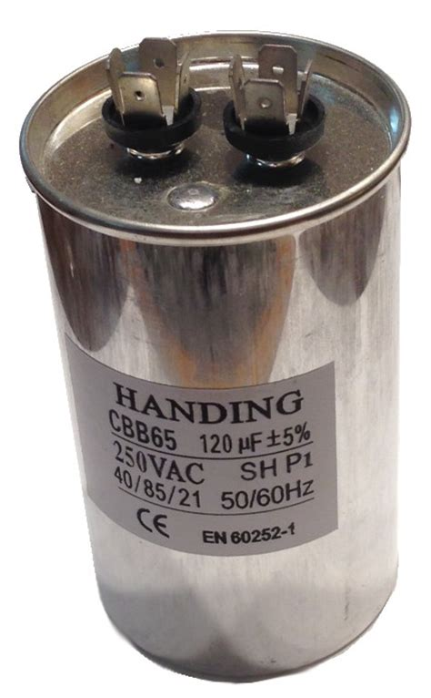 240 volt capacitor start motor cbb60 a2120 120uf 250 volt dual run capacitor
