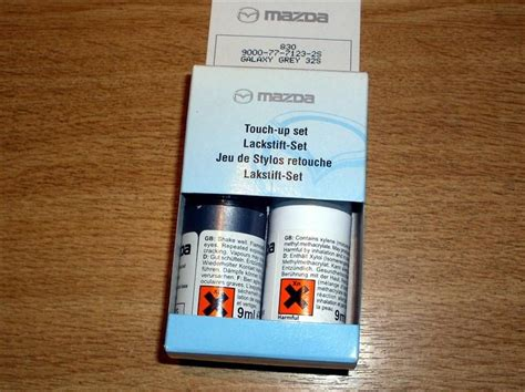 paint touch up kit genuine mazda 32s galaxy grey mica