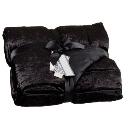 crushed velvet throw throws blankets home