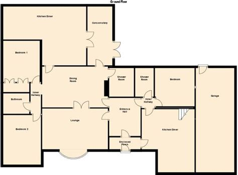 4 bedroom bungalow floor plans 4 bedroom bungalow floor plans uk thefloors co