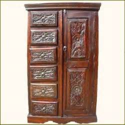 Computer Armoire Solid Wood Mahogany 60 Quot H Computer Armoire Desk Cabinet Solid Wood