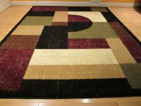 Large Area Rug Modern Carpet Floor Large 8x11 Contemporary Rug Modern Area Rug 8x10 Carpet Floor Rug Black