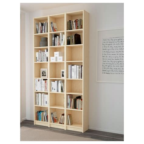 ikea com billy bookcase billy bookcase birch veneer 120x237x28 cm ikea