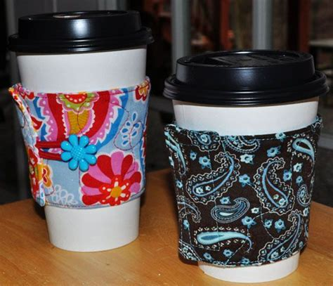 design mug tutorial free cup cozy java jacket sewing pattern tutorial