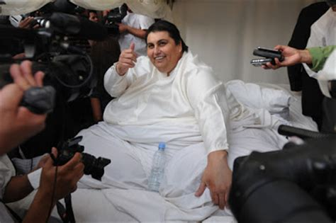 Manuel Meme Uribe - the world most world s fattest man gets married