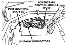 dodge ram 1500 how do i begin to install a pcm in a 2002