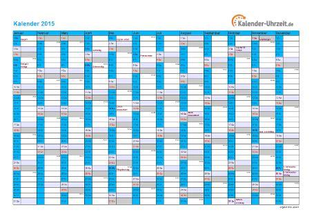 Feiertage Kalender 2015 Kalender 2015 Mit Feiertagen