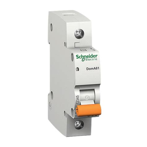 Mcb 1phase 25a Domae Schneider miniature circuit breakers switchboards schneider electric
