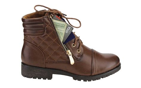 boots with pockets these comfy combat boots secret pockets boston herald