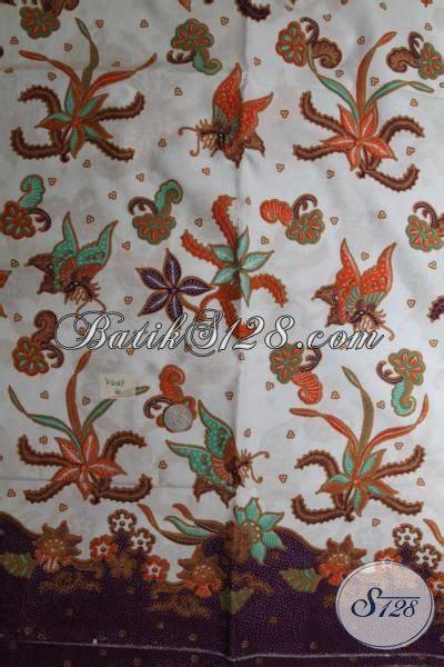 Kain Batik Katun Dasar Putihan batik kain dasar putih motif unik dan trendy batik proses print harga murah meriah k1658p
