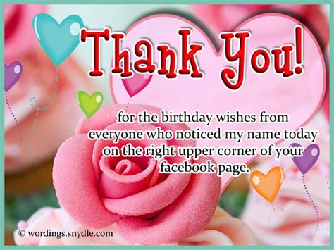 Thank You For The Happy Birthday Wishes How To Say Thank You For Birthday Wishes Wordings And