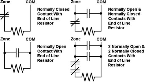 how do eol resistors work ter proof security system wiring