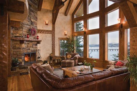 sandpoint idaho timber home precisioncraft