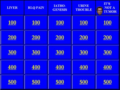 Phillip Cheng Md Ms Jeopardymaker Jeopardy Generator