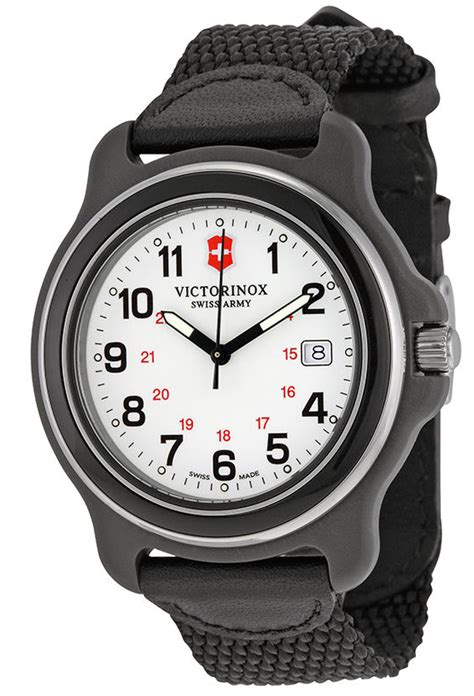 Swiss Army Original 2070 Silver Black victorinox s original xl gmt white black 249086