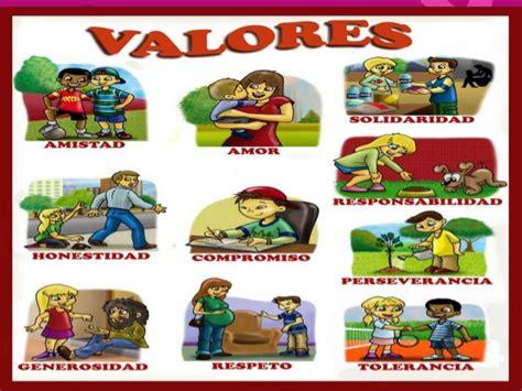 imagenes infantiles que representen los valores los ni 241 os y los valores exposicion