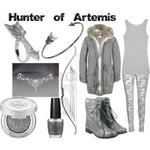 hunter of artemis polyvore