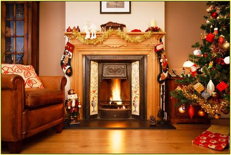 Christmas Decoration Ideas For Home by Best Fireplace Ideas With Christmas Spirit Diy Amp Home Decor