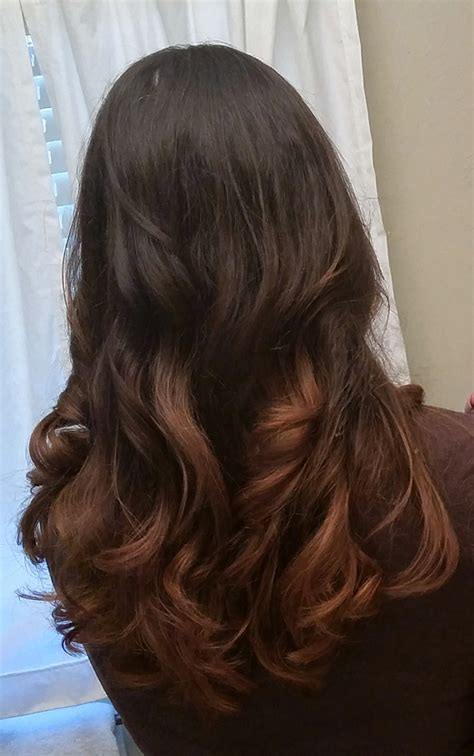 long dark brown ombre hair image gallery long dark ombre hair
