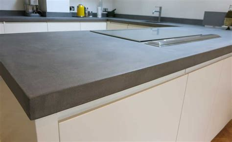 Outdoor Kitchen Countertop Ideas by Bespoke B 233 Ton Cir 233 Concrete Kitchen Worktops Modern Home