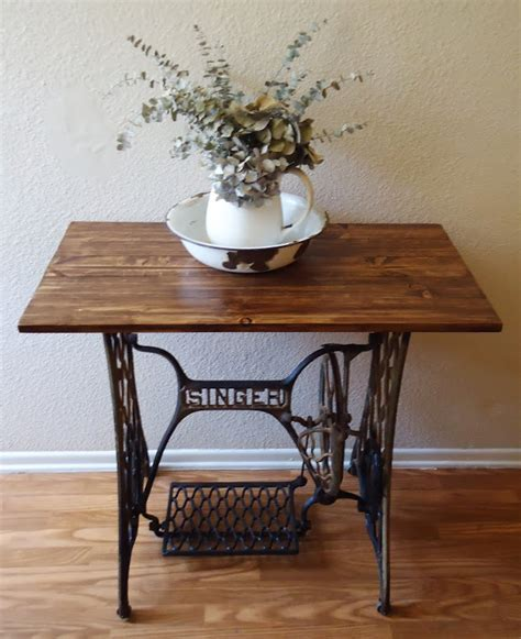 how much is a singer sewing machine table worth pea garden collection home and garden decor