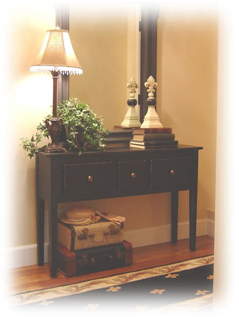 entry way table ideas notes from a cottage industry new old entry table
