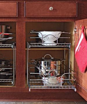 organizing pots and pans in kitchen cabinets 15 creative ideas to organize pots and pans storage on