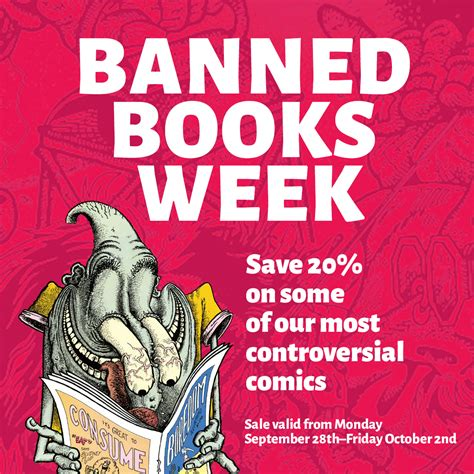 Ban More Books 2 by Banned Books Week Sale Fantagraphics