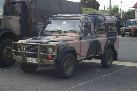 military land rover 110 td5 remediation vehicles remlr