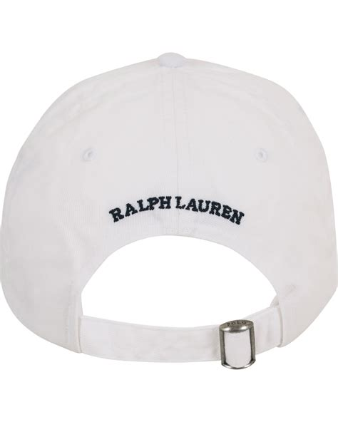 Polo Cap White polo ralph printed cap white hos careofcarl