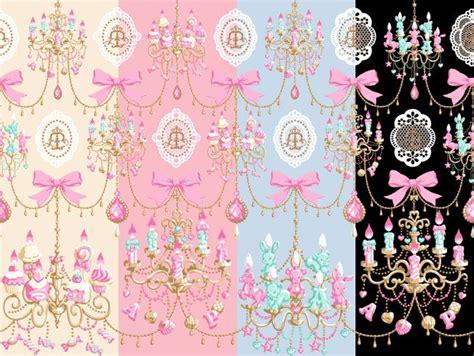 angelic pretty chandelier angelic pretty sweet chandelier print pattern