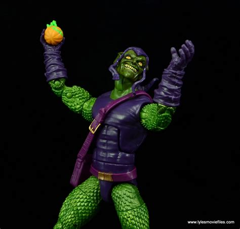 Green Goblin Figure Marvel marvel legends green goblin figure review baf sandman wave