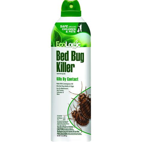 ecologic  oz aerosol bed bug killer hg   home depot