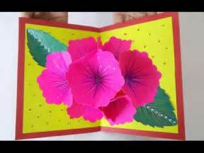 Paper Craft Ideas For Greeting Cards - pop up greeting card ideas amazing diy handmade