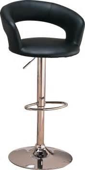 Bar Stool Adjustable Coaster Furniture 120346 Upholstered Adjustable Bar Stool
