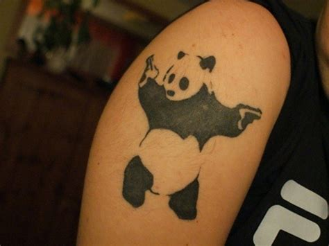 panda tattoo ideas 51 panda shoulder tattoos design