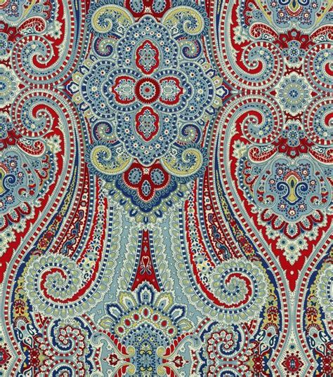 home decor print fabric waverly honeymoon berry jo ann paisley home decor and decor on pinterest