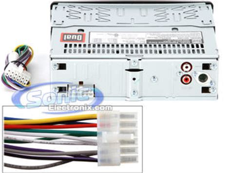 dual car stereo capacitor wiring diagram dual get free
