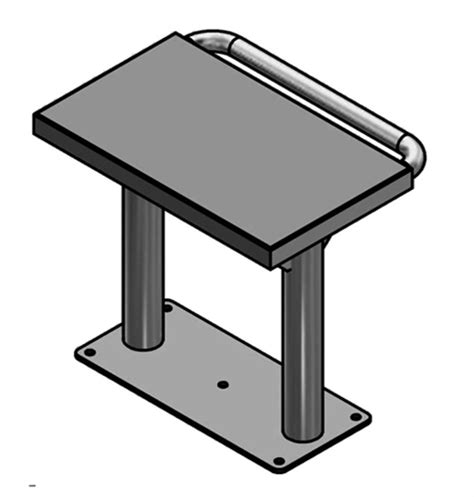 detention bench detention bench with handcuff bar