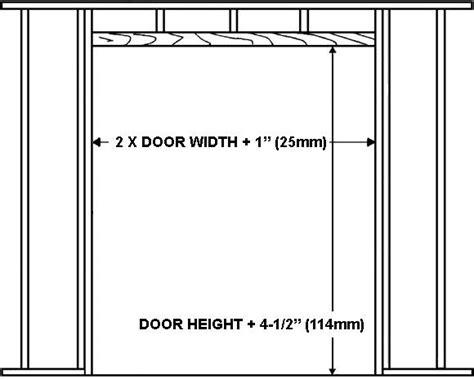 framing interior door opening interior doors opening 5 photos 1bestdoor org
