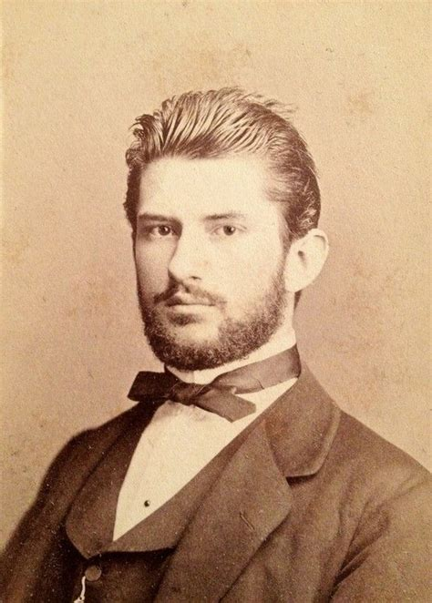 old timey men haircuts movember 19th century style