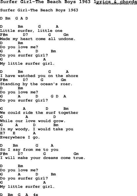 Beach Boys Guitar Chords