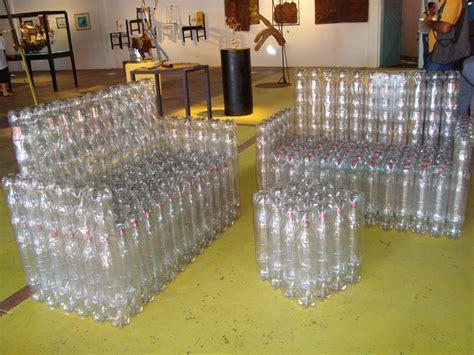 Furniture Made Out Of Recycled Materials by Garrafas Pet Como Reciclar E Fazer Artesanato Com