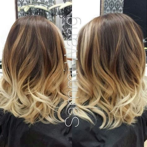 blonde ombres for medium lengths a collection of 20 ombre hair looks for women short hair
