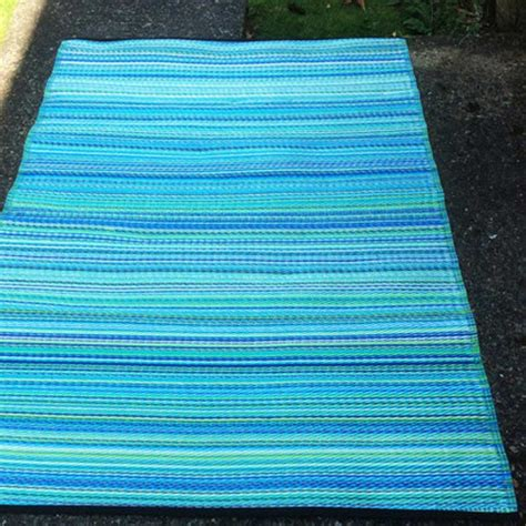 Blue And Green Outdoor Rug Green Decore Stripes Picnic Rug Blue And Green 120 X 180cm